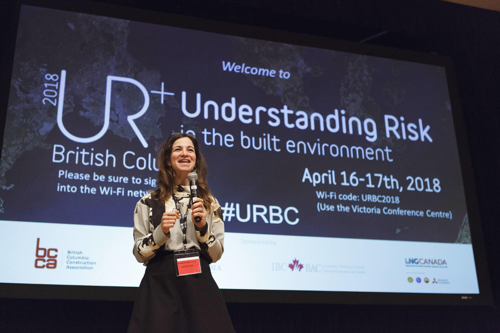 Photos at the Understanding Risk Conference.