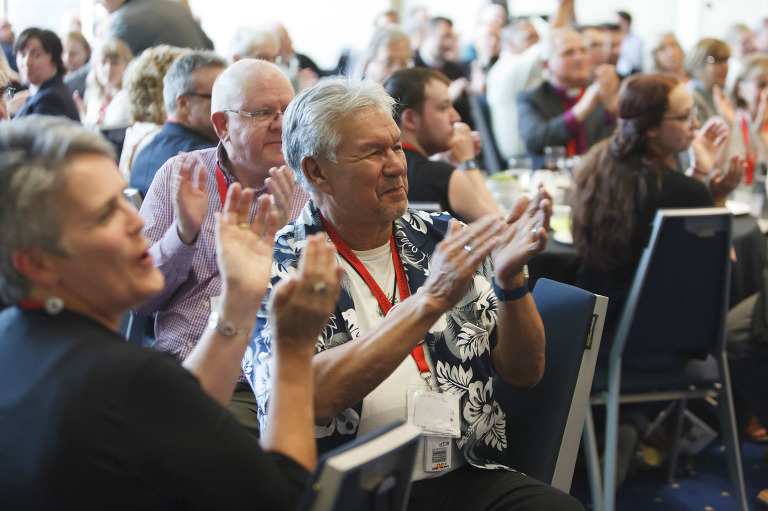 Event photography of the Anglican Church of Canada's General Synod in Vancouver, BC